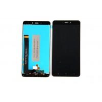 Дисплей для Xiaomi Redmi Note 4 в сборе с тачскрином (черный) (у телефона два винта снизу)