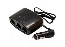 OLESSON 1635 Разветвитель авто (3 гнезда+2*USB)