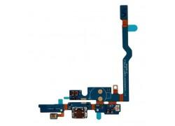 Шлейф для LG P765, P760 Optimus L9 с разъемом зарядки, микрофон, кнопка Home