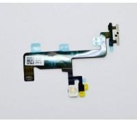 iPhone 6 (4.7) - шлейф с кнопкой включения + вспышка + микрофон