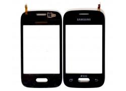 Тачскрин для Samsung G110h Galaxy Pocket (черный) (сенсорное стекло)