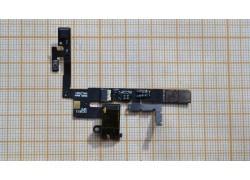 Шлейф для Lenovo S960 Vibe X с кнопкой включения, разъем гарнитуры