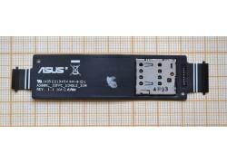 Шлейф для ASUS ZenFone 5 LTE (A500KL) с контактами Sim