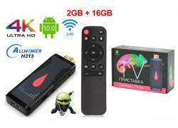 Медиа плеер Орбита OT-DVB30 (2) (Allwinner H313, Android9,0, 2Гб, Flash 16ГБ, Wi-Fi)