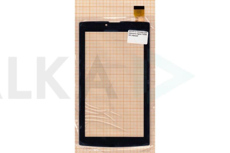 Тачскрин для планшета FPC-DP070002-F4 (черный) (713)