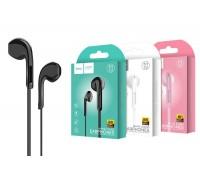 Наушники HOCO M39 Rhyme sound earphones with microphone 3.5мм черный