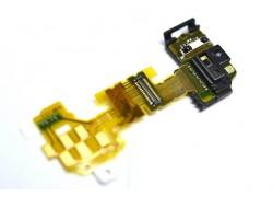 Шлейф для Sony LT25i Xperia V с сенсором, коннектор разъема гарнитуры