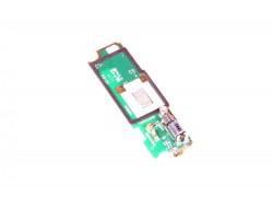 Плата (шлейф) для Sony C1905 Xperia M с вибромотором, микрофон
