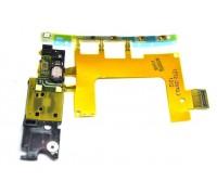 Sony M36h/ C5502/ C5503 Xperia ZR - шлейф на боковые кнопки + микрофон + вибромотор