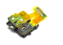Шлейф для Sony D6603 Xperia Z3 с разъемом гарнитуры, датчик света, микрофон