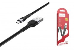 Кабель USB micro USB HOCO X34 Surpass charging data cable  (черный) 1 метр