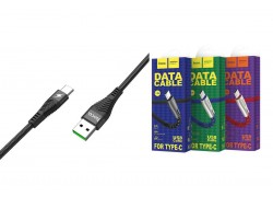 Кабель USB HOCO U58 Core charging data cable for Type-C (черный) 1 метр