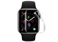 Защитная пленка дисплея Apple Watch 38 mm Ceramic (черная) матовая