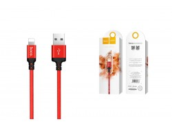 Кабель для iPhone HOCO X14 Times speed lightning cable 2м красный