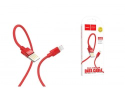 Кабель для iPhone HOCO U55 Outstanding charging data cable for Lightning 1м красный