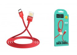 Кабель USB HOCO U55 Outstanding charging data cable for Type-C (красный) 1 метр