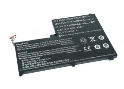 Аккумуляторная батарея для ноутбука DNS Clevo W740 11.1V 4800mAh W740BAT-6 Original