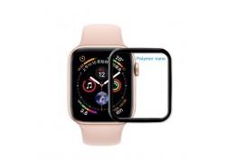 Защитная пленка дисплея Apple Watch 38 mm Polymer nano матовая (черная)