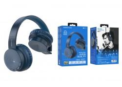 Беспроводные внешние наушники BO11 BOROFONE Maily BT wireless headset синий