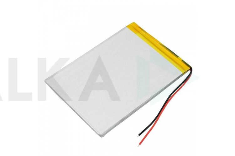 Аккумулятор универсальный 60x35x4 3.7V 2000mAh (044065P)