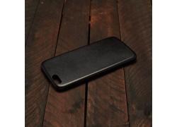 Накладка корпуса Эко-кожа Iphone 6 (4.7)  цвет черный
