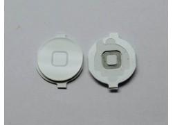 Толкатель кнопки Home для iPhone 4 (пластик) белый
