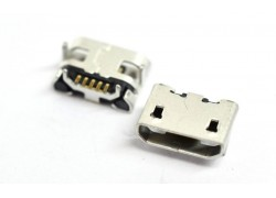 Разъем зарядки China X222 (micro USB), Micromax A104, Jack059 (5pin)
