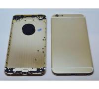 iPhone 6 plus (5.5) - задняя панель (золотистая)