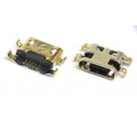 Разъем зарядки для Alcatel OT 4014D, 4015D, 4015X, 4018D, 4033D, 4035D, 6012D, 6012X, 6016D, Meizu M2 mini, ZTE L2, China A708 (системный разъем micro USB)