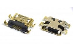 Разъем зарядки для Alcatel OT 4014D/ 4015D/ 4015X/ 4018D/ 4033D/ 4035D/ 6012D/ 6012X/ 6016D/ Meizu M2 mini/ ZTE L2/ China A708 (системный разъем micro USB)