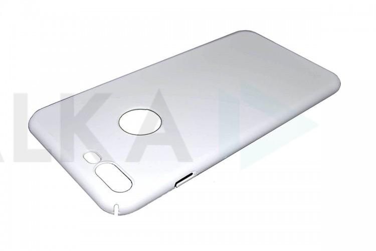 Чехол ультратонкий пластиковый для Apple iPhone 7 шелковистый White