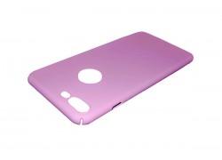 Чехол-накладка ультратонкий пластиковый для Apple iPhone 7 Plus шелковистый Pink
