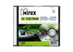 DVD-RW Mirex 4,7 Гб 4x Slim case (цена за 1 шт)