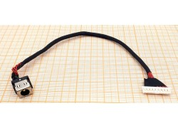 Разъем питания для ноутбука Asus GL752 с кабелем 17.5 см