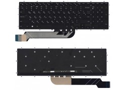 Клавиатура для ноутбука Dell Inspiron 15-5565 черная с подсветкой