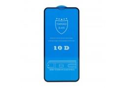"""Защитное стекло дисплея iPhone 12 (6.7) 10D черное (тех. уп.) """"Рисунок Щит"""""""
