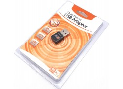 Адаптер USB WiFi 600Mb/s для ноутбука, ПК 2-х канальный