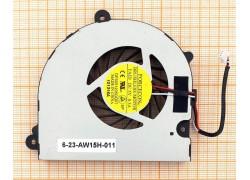 Вентилятор (кулер) для ноутбука Clevo W110 W150 W170 ver3 12мм