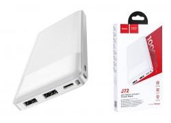 Универсальный дополнительный аккумулятор HOCO J72 power bank (10000 mAh) белый