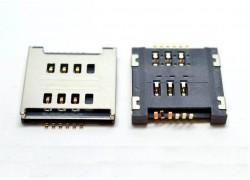 Контакты SIM для LG P715/ E615/ E455/ T370/ T375 с держателем