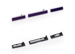 Боковые заглушки для Sony Xperia Z1 (L39h) фиолетовый