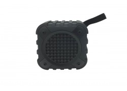Портативная акустика RGK-220 колонка в обрезиненном корпусе (microUSB/microSD) цвет черный