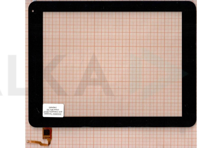 Тачскрин для планшета wgj97109a-gda-v1 (черный) (652)