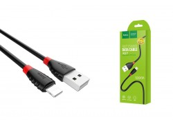 Кабель для iPhone HOCO X27 Excellent charge charging data cable for lightning 1м черный